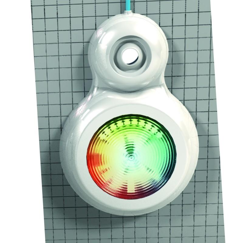 Projecteur led multicolore pour piscine hors sol visser for Led piscine hors sol