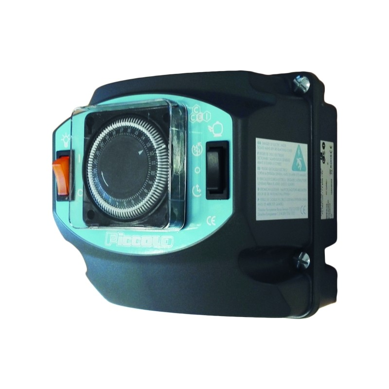 Coffret lectrique pour piscine coffret filtration led for Chauffage piscine 12v
